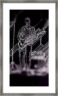 Rock It Framed Print by David Alvarez
