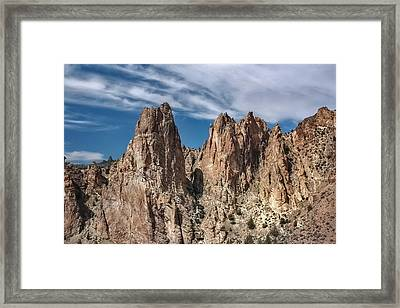 Rock On Framed Print by Tyra  OBryant