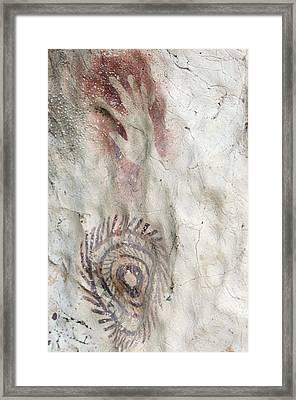 Rock Painting Timor-leste Framed Print