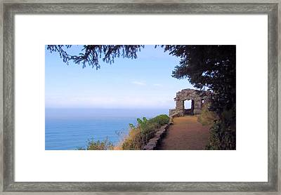 Framed Print featuring the photograph Rock Shelter by Katie Wing Vigil