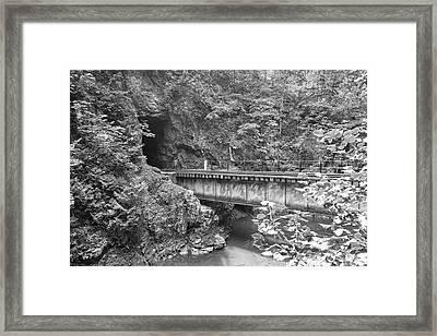 Rock Tunnel  Framed Print by Betsy Knapp