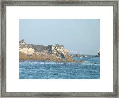 Rock Work Framed Print by Jamie Diamond