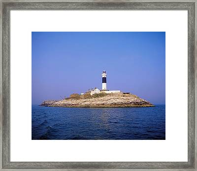 Rockabill, Off Skerries, Co Dublin Framed Print by The Irish Image Collection