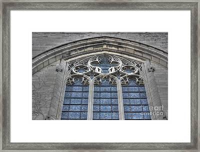 Rockefeller Chapel Framed Print by David Bearden
