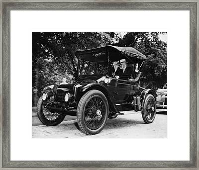 Rockefeller Family. From Left Abby Framed Print