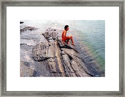 Framed Print featuring the photograph Rocket Man by Beto Machado