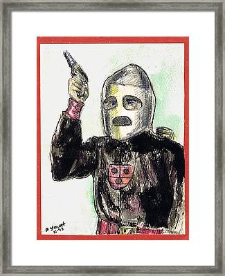 Rocket Man Framed Print by Mel Thompson