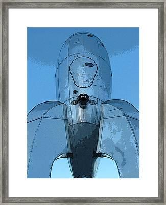 Rocket Ship 1 Framed Print by Samuel Sheats