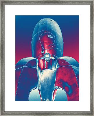 Rocket Ship 2 Framed Print by Samuel Sheats