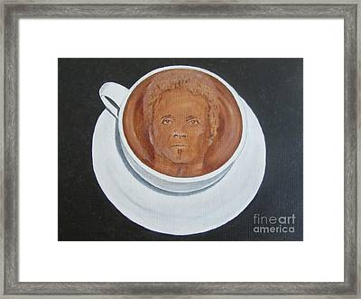 Rockin'coffee Framed Print