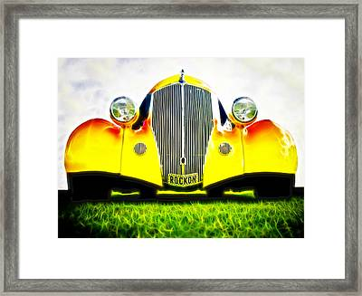 Rockon Rod Framed Print by Phil 'motography' Clark