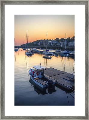 Rockport Dawn Framed Print by Matthew Green
