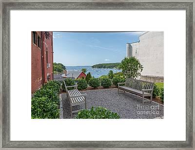 Rockport Overlook Framed Print by Susan Cole Kelly