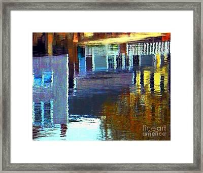 Rockport Reflections Framed Print