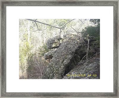 Rocks #1 Framed Print by Anna Stearman