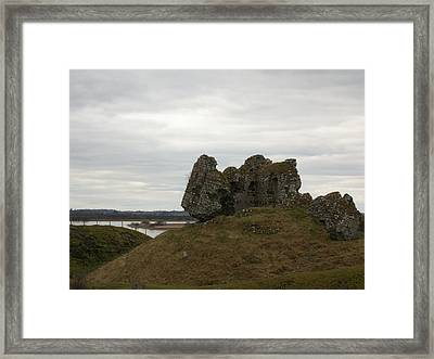 Rocks And Ruins Framed Print by Darcey James