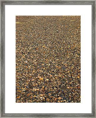 Rocks Framed Print by Jim Moore