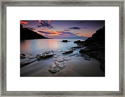 Rocks Of Gordon Framed Print
