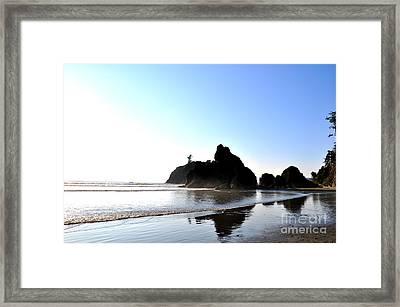Rocks Framed Print by Tanya  Searcy