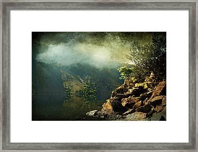 Rocky Hill Framed Print by Svetlana Sewell