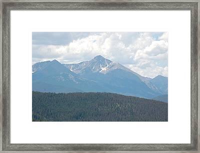Rocky Mountain High Framed Print by Randy J Heath