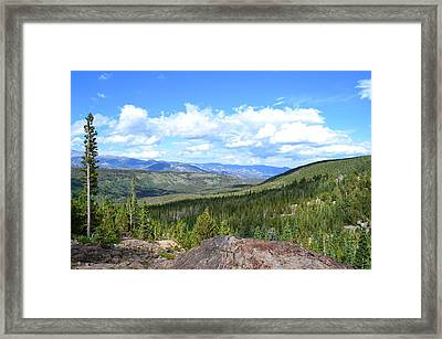 Rocky Mountain National Park2 Framed Print by Zawhaus Photography