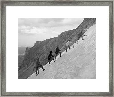 Rocky Mountain Park Framed Print by Granger