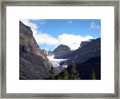 Rocky Mountain Pass Framed Print