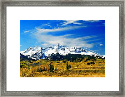 Rocky Mt. High Framed Print