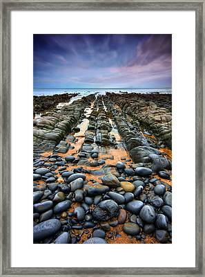 Rocky Road To Nowhere Framed Print by Mark Leader
