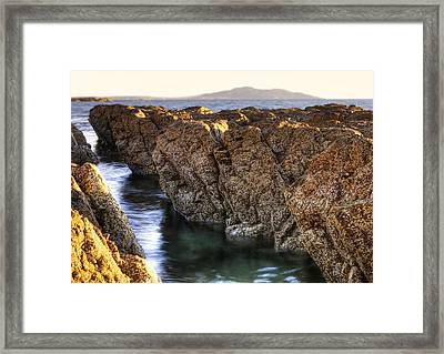 Rocky Seaside Framed Print