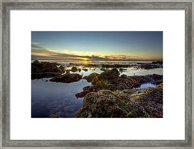 Rocky Sunset Framed Print by Brian Leon