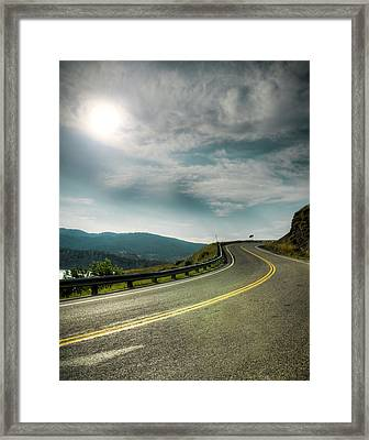 Rocky's Spillway Framed Print by Ray Devlin