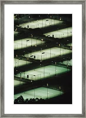 Rod Laver Arena Tennis Complex Framed Print by Jason Edwards