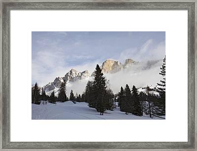 Roda Di Vael 1 Framed Print by Raffaella Lunelli
