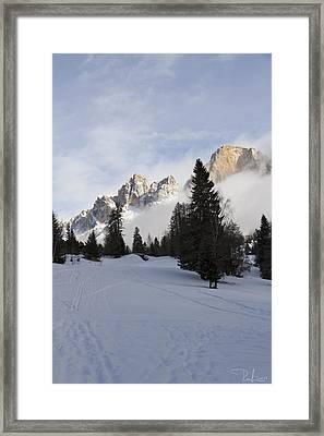 Roda Di Vael 2 Framed Print by Raffaella Lunelli