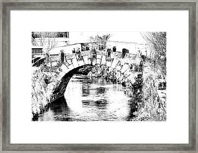 Roeder Bridge Framed Print by Bodo Herold