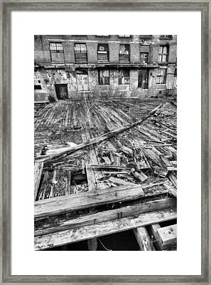 Roger Was Here Framed Print by JC Findley