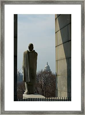 Roger Williams And His Capitol Framed Print