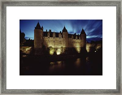 Rohan Castle, Occupied By The Rohan Framed Print