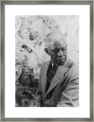 Roland Hayes 1887-1977, African Framed Print by Everett