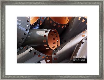 Roll Of Film Framed Print