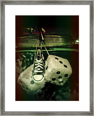 Roll Of The Dice Framed Print