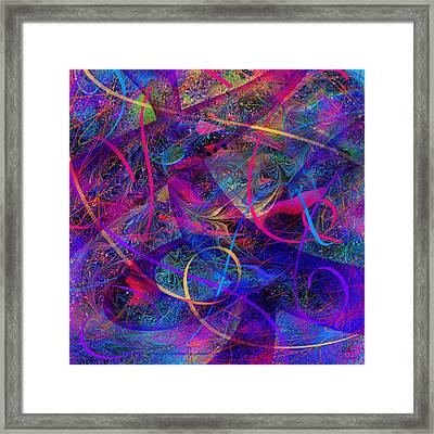 Roller Coaster Framed Print