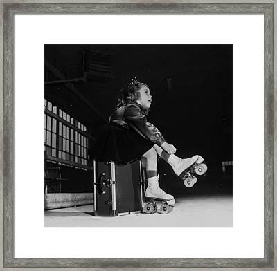 Roller Skates Framed Print