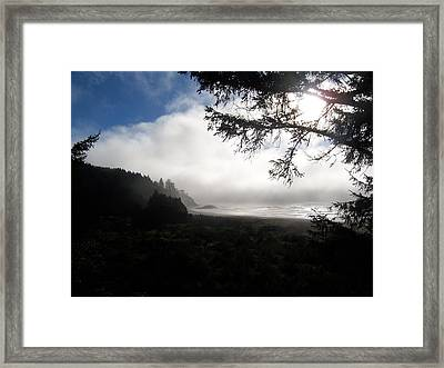 Framed Print featuring the photograph Rolling Fog by Peter Mooyman