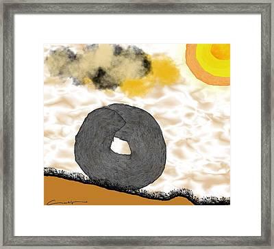 Rolling Home Framed Print