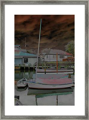 Rolling In Framed Print by Carolyn Stagger Cokley