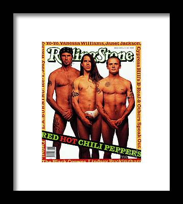 Red Hot Chili Peppers Framed Prints