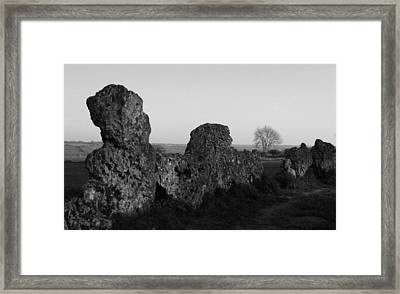 Rollright Framed Print